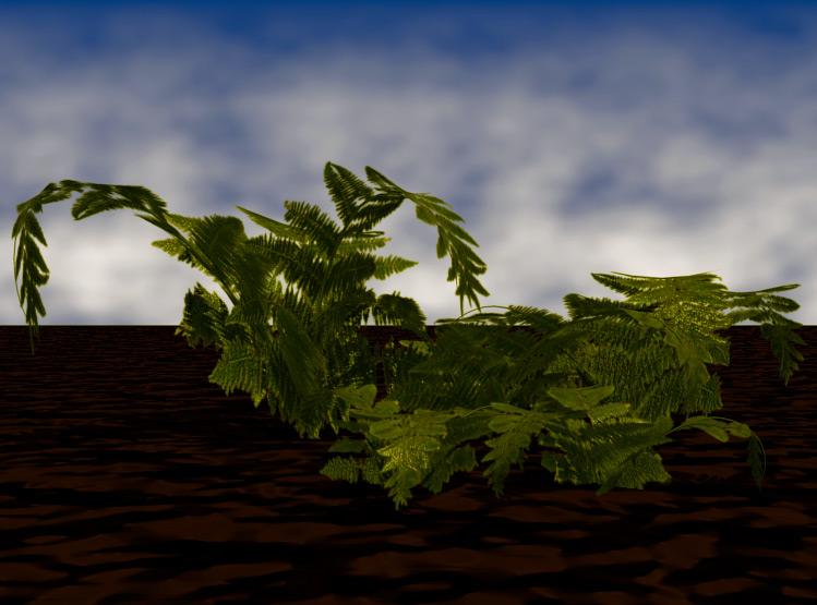 VideoTutorial Pflanzen mit Blender
